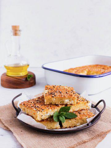 greek yoghurt cheese pie
